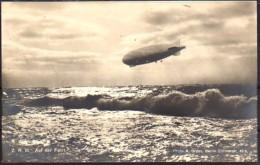 Amerika Zeppelin Z.R.III 1924 über Bodensee - Dirigeables