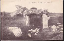 CPA - (56) Carnac - Entrée Du Dolmen De Kermario - Carnac