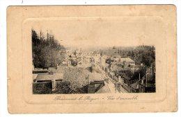 Cp , 27 , BEAUMONT LE ROGER , Vue D'ensemble , Voyagée Sans Timbre , 1915 - Beaumont-le-Roger