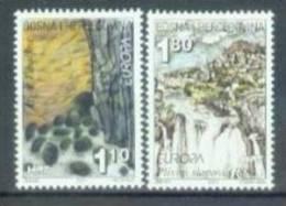 BHHB 2001-70-1 EUROPA CEPT, BOSNIA AND HERZEGOVINA-HERZEGBOSNA (CROAT), 2v, MNH - Europa-CEPT