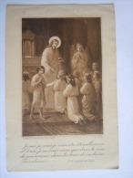 Communie Holycard Image Pieuse Gerard & Marin 297 Je Suis Je Serai.. Communion 1924 Marthe Reusens Anvers Antwerpen - Devotion Images
