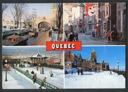 Quebec - Porte Saint-Louis - Terrasse Dufferin - Rue Saint-Louis - Château Frontenac - Granby