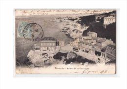 13 MARSEILLE Corniche, Route De La Corniche, Tramway, Ed NG, 1906 - Endoume, Roucas, Corniche, Plages