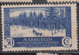 1935 1937 MARRUECOS ESPAÑOL EDIFIL 156  MH - Marocco Spagnolo