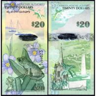 * BERMUDA 20 DOLLARS 2009 (2013) UNC P 60 A Hybrid - Bermude