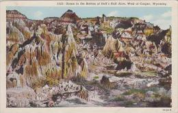 Wyoming Casper Scene In The Bottom Of Hells Half Acre