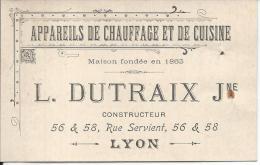 LYON IIIe - L. DUTRAIX Jne - 56 & 58 Rue Servient - Lyon