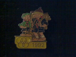 1 PIN\´S JEUX OLYMPIQUES ALBERTVILLE 1992 SCOUTS - Olympische Spiele