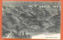 HA35, Alpes Vaudoises, Chesières, Leysin, Pas De Cheville, Aigle, Yvorne, 6515, Non Circulée - VD Vaud