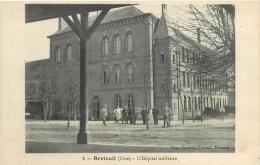 60 BRETEUIL HOPITAL MILITAIRE - Breteuil