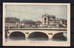 BELFORT, LE PONT CARNOT, PUENTES, CIRCULADA EN 1908 - Belfort - Ciudad