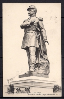 BELFORT, MONUMENT DES TROIS SIEGES, STATUE DU COLONEL DENFERT-ROCHEREAU, CIRCULADA EN 1914, ESTATUAS, MONUMENTOS - Belfort - Ciudad