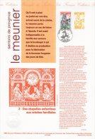 """Document Officiel De 1995 N° 21 95 505 """" SANTONS DE PROVENCE : LE MEUNIER"""" N° YT 2977 + Prix Dégressif ! DPO - FDC"""