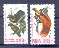 Mrw1135 VOGELS BIRDS VÖGEL AVES OISEAUX INDONESIË INDONESIA 1982 PF/MNH - Indonesië
