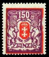 DANZIG Nr 129Y Postfrisch 4CF97E - Danzig