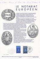 """Document Officiel De 1995 N° 21 95 539 """" LE NOTARIAT EUROPEEN """" N° YT 2924. + Prix Dégressif ! DPO - Documenten Van De Post"""