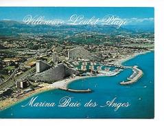 06 VILLENEUVE-LOUBET PLAGE : MARINA BAIESDES ANGES N°516 Vue Générale Aérrienne /CPM écrite Non Datée TTBE - France