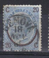 ITALIE  N° 22 Type 1 (1865) - 1861-78 Vittorio Emanuele II