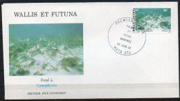 Wallis Et Futuna 1981 268 FDC  - Faune Et Flore Pélagiques - Milieu Marin - Fond à Cyanophycées - FDC