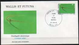 Wallis Et Futuna 1981 269 FDC  - Faune Et Flore Pélagiques - Milieu Marin - Dinoflagellé Planctonique - Ceratium Vultur - FDC