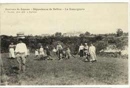 Carte Postale Ancienne Balbiac - La Domerguerie - Agriculture - France
