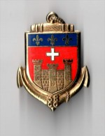 INSIGNE 38° CC Compagnie De Camp CAYLUS - DRAGO PARIS G 2105 - Army