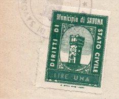 MARCA MUNICIPALE-SAVONA - Italy