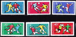Bulgaria 1970 World Football-championship Mexico  MNH Set Michel 1982 / 1987 - Bulgarije