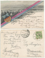 Hungary Now Romania 1906 Cluj Kolozsvar Saxon High School Special Postcard Used - Romania