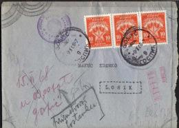 YUGOSLAVIA  - JUGOSLAVIA - CROATIA - PORTO Instead FRANCO Stamps - GOSPIC -1968 - RARE - 1945-1992 Sozialistische Föderative Republik Jugoslawien