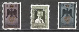Liechtenstein - 1956 - Y&T 308+313/4-  Oblitérés & Neuf * - Liechtenstein