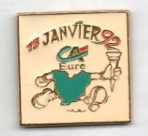 JO Jeux Olympiques Albertville 92 Et La Banque Crédit Agricole De L´ Eure - Olympic Games
