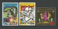 "Centrafrique Aerien YT 227 à 229 (PA) "" Coopération Europe-Afrique OR "" 1980 Neuf** - Central African Republic"