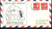 USA  1976  Pôle Sud Polo Sud South Pole ROSS  ICE SHELF - Lettres & Documents