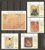 GHANA 1989 - Yvert #1018/21+H141 - MNH ** - Ghana (1957-...)