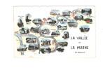 94 - LA VALLEE De La MARNE - 1957 - En Banlieue - Promenade Du Dimanche - Multivues - Pin´up Femme Maillot De Bain - France