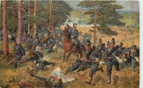 67 Siegreicher Flankenangriff Durch Das 9 Bayer Inft. Rgt. U. 6. Bayer. Jager Bataillon Bei Wörth Am 6.August 1870 - Unclassified