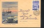 Russia URSS 1959 Pôle Sud Polo Sud South Pole - Polar Philately
