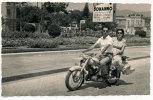 MESSINA CART. FOTOGRAFICA PER LE VIE CON LA MOTO DUCATI - Palermo