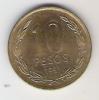 CHILI  10 Pesos 1991  KM 228.2 - Chile
