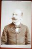 RARE PHOTO ORIGINALE VERS 1880 PAR PIERRE PETIT REPRESENTANT JOSEPH CAILLAUX HOMME POLITIQUE FRANCAIS - Anciennes (Av. 1900)