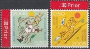 Belgique 2005 COB 3399 - 3400 Neuf ** Cote (2016) 2.00 Euro Vacances La Mer - Les Ardennes - Belgien