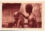 CPA Côte D´Ivoire Afrique  Salon De Coiffure - Côte-d'Ivoire