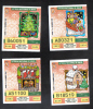 MALTA - 4 OLD LOTTERY TICKETS - 2000 - Lottery Tickets