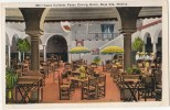 Vintage Postcard, Agua Caliente Pateo Dining Room, Baja Cfa., Mexico (ref.#-253se) - Mexique