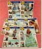 7 X Lidl Reklame Prospekte 2009   - Insgesammt  Ca. 190 Seiten Großformat - Reklame