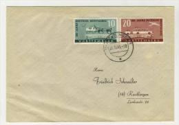 W�rttemberg Michel No. 49 - 50 gestempelt used auf Brief