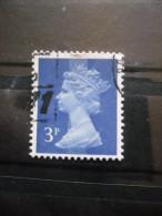 GRANDE BRETAGNE N°610a 1 Bande De Phosphore Centrale Oblitéré - 1952-.... (Elizabeth II)