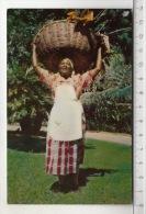 Jamaica, B. W. I. - Fruit And Flower Vendor - Jamaïque
