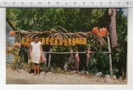Jamaica, B. W. I. - Little Fruit Vendor - Jamaïque